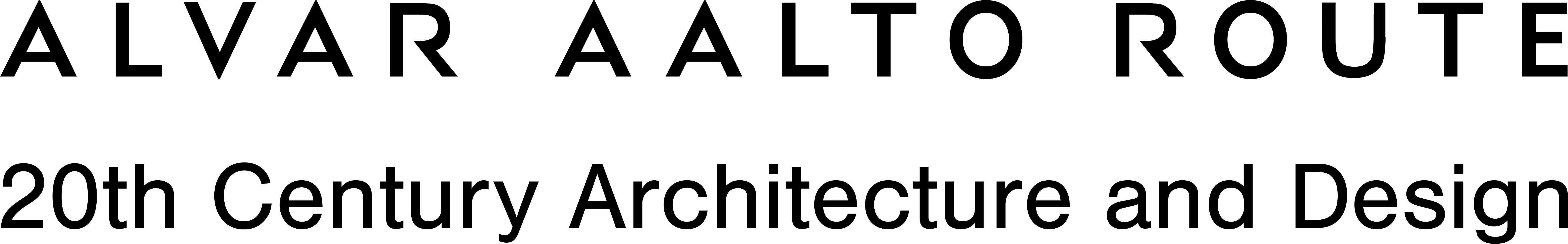 Alvar Aalto Route logo