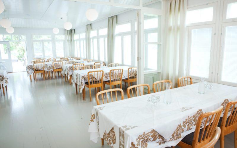 Aino Aalto tuolit Noormarkun ruukin ruokasalissa
