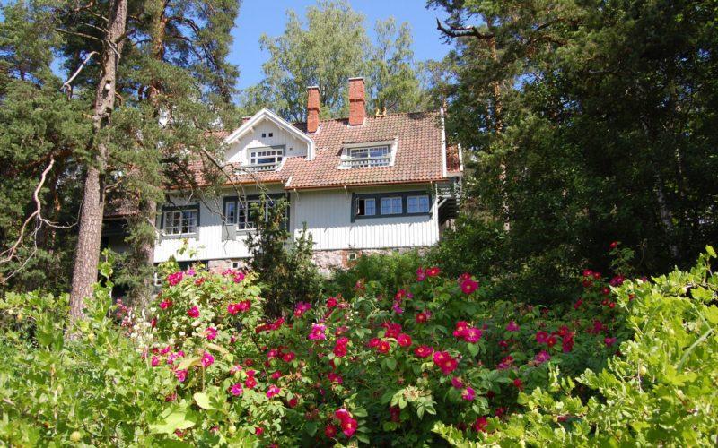 Ainola Sibelius home museum garden Järvenpää Visit Tuusulanjärvi