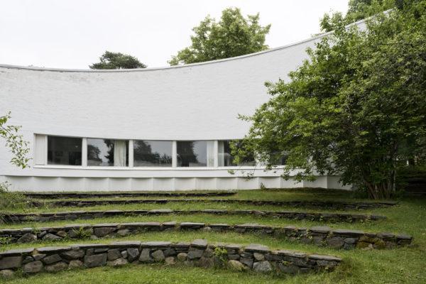 Двор Студии Алвара Аалто. Фото: Маийя Холма, Музей Алвара Аалто