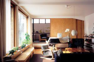 Интерьер дома Аалто в Хельсинки. Фото: Фонд Алвара Аалто