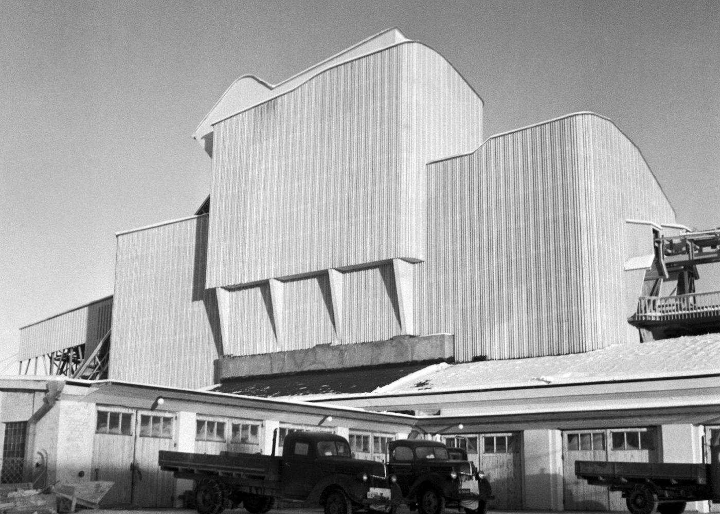 Demolished A.Ahlström Corporation Saw Mill in Varkaus 1948