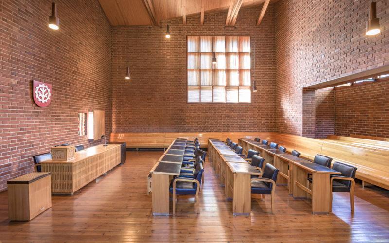 Säynätsalo Town Hall kunnantalon valtuustosali kuva Tero Takalo-Eskola