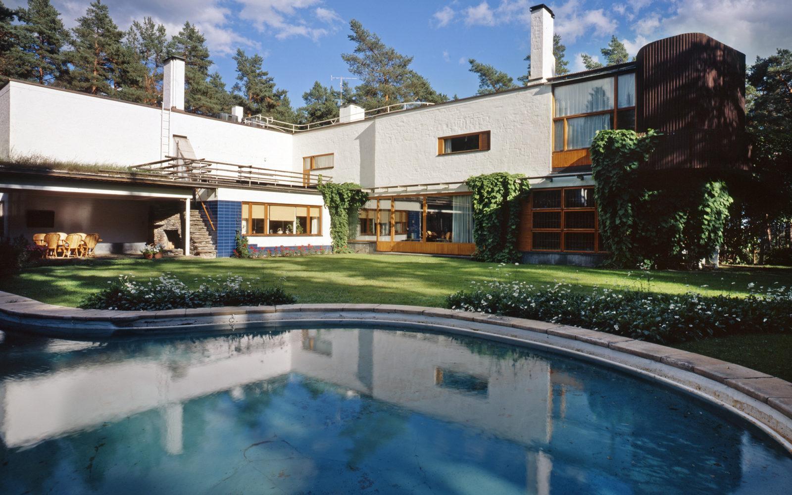 Villa Mairea, Noormarkku. Kuva: Maija Holma, Alvar Aalto -säätiö