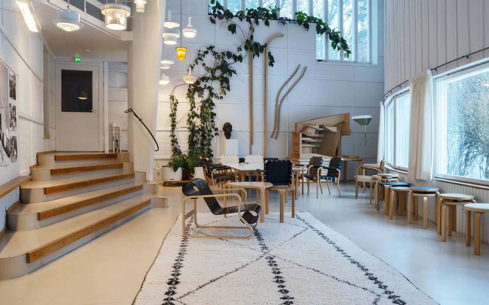 Alvar Aallon Ateljee, Helsinki.  Kuva: Maija Holma, Alvar Aalto -säätiö