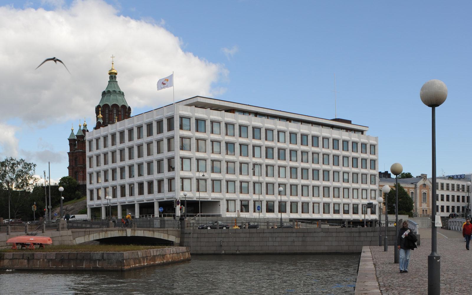 Enso-Gutzeitin pääkonttori, Helsinki. Kuva: Maija Holma, Alvar Aalto -säätiö