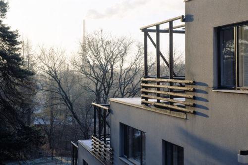 Viitatorni apartment block house by Alvar Aalto in Jyväskylä. Photo: Visit Jyväskylä, Tero Takalo-Eskola.