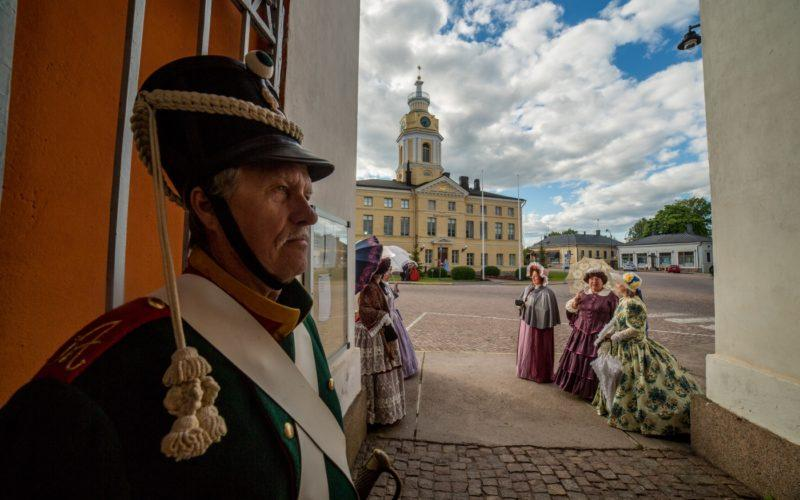 Hamina is a town with interesting military history