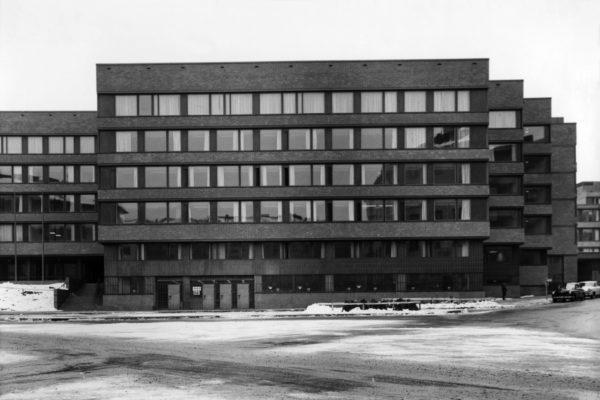 Учреждение социального страхования KELA в Хельсинки. Фото: Хейкки Хавас, Музей Алвара Аалто