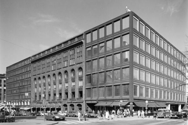Helsinki Rautatalo ja Akateeminen kirjakauppa, kuva Martti Kapanen Alvar Aalto säätiö