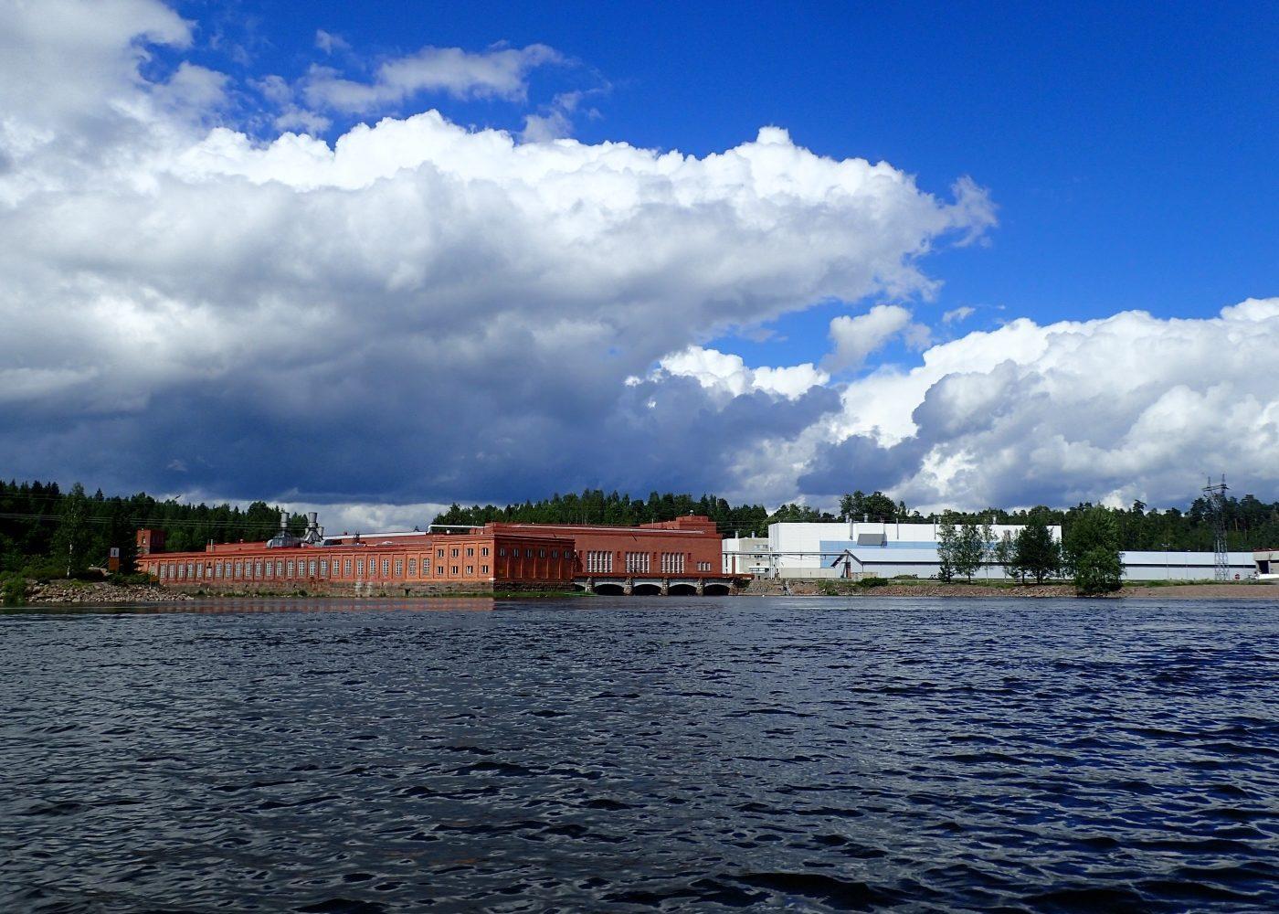Veneretken maisemaa, Kouvola, Kymijoki