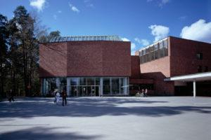 Университет Ювяскюля, главный корпус. Фото: Майя Холма, Музей Алвара Аалто