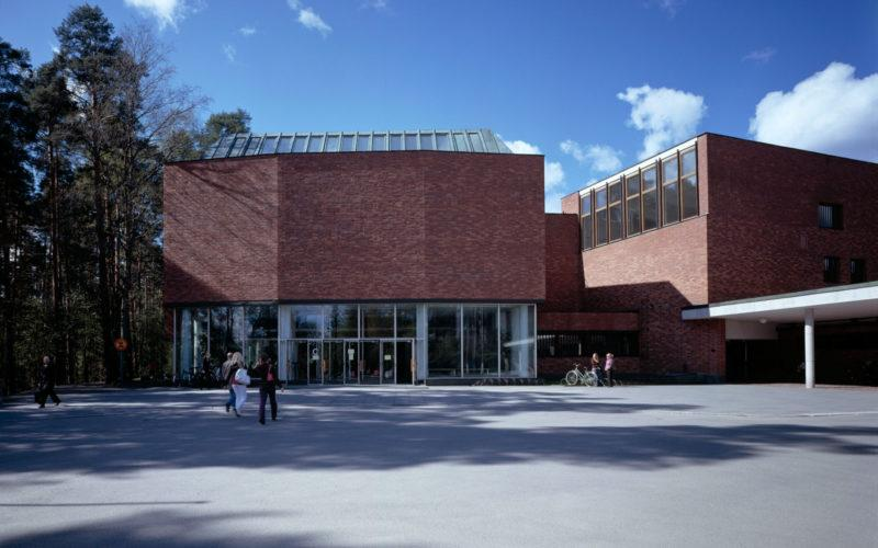 Университет Ювяскюля, главный корпус. Фото: Майя Холма, Фонд Алвара Аалто
