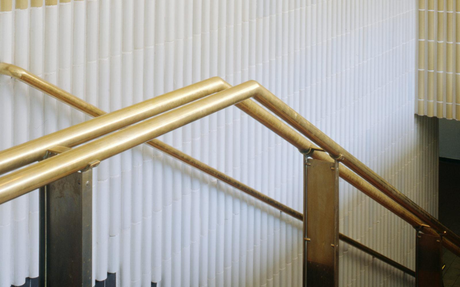 Kansaneläkelaitoksen portaikon sauvatiilet, Helsinki