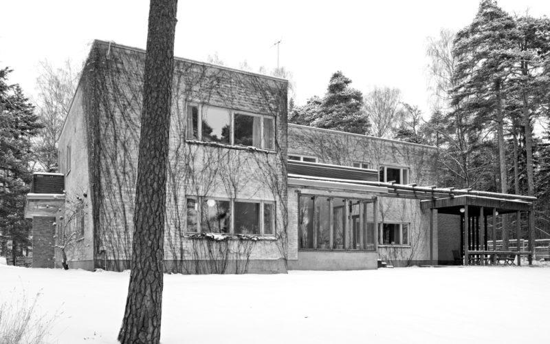 Directors' house Kantola wintertime photo Rurik Wasastjerna