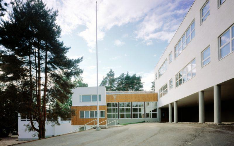 Inkeroinen Tehtaanmäki Elementary School photo Maija Holma Alvar Aalto Foundation