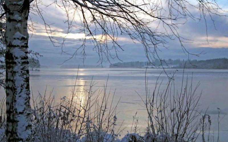 Lake Tuusula winter Järvenpää Visit Tuusulanjärvi