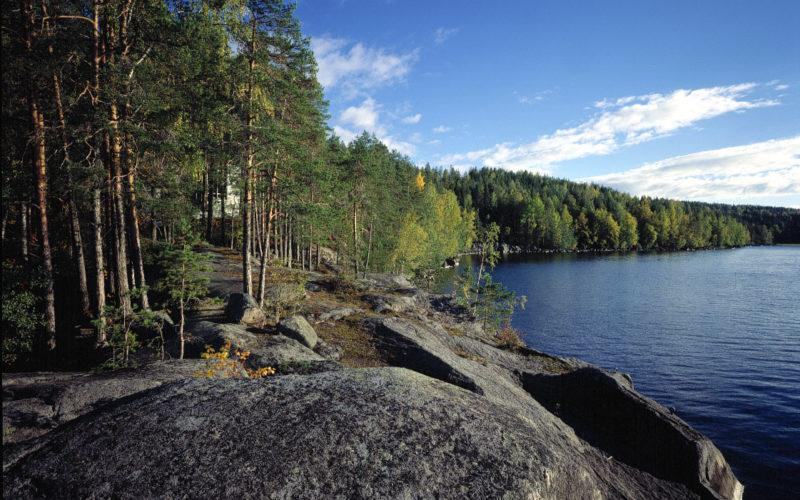 Lake Päijänne in Jyväskylä near the Experimental House, photo Maija Holma Alvar Aalto Foundation