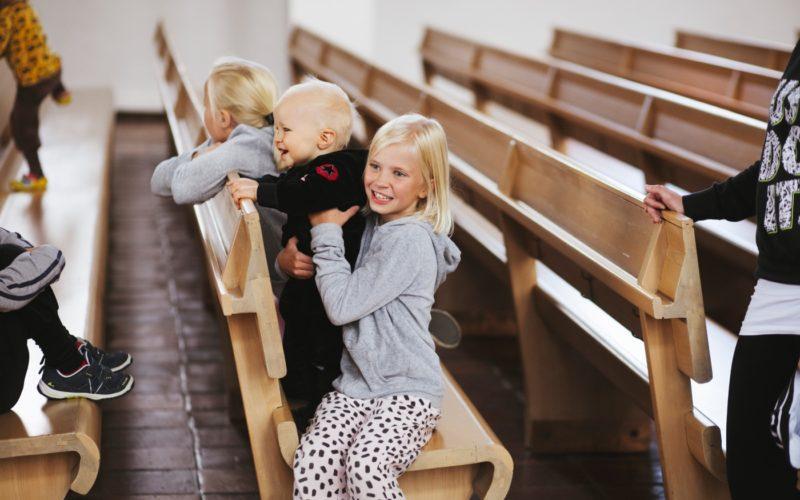 Lakeuden Ristin kirkko palvelee perheitä. Kuva: Visit Seinäjoki, Katja Lösönen.