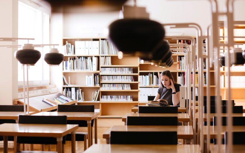 Seinäjoen Aalto-kirjasto on hiljattain restauroitu. Kuva: Visit Seinäjoki, Katja Lösönen.