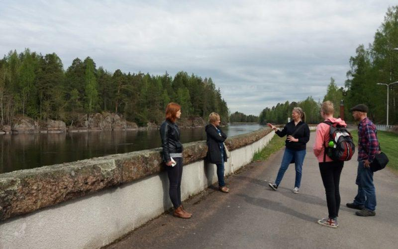 Guided tour at the River Kymijoki in Inkeroinen Kouvola
