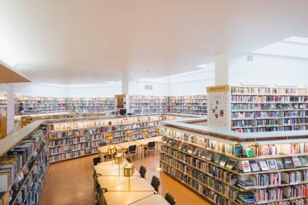 Библиотека Рованиеми. Фото: Йухо Кува, г. Рованиеми
