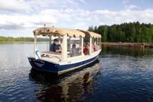 Risteily Saimaalla sähköalus Lady Of The Lake:n kyydissä kuva Anssi Toivanen