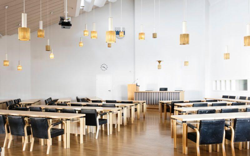 Seinäjoki Town Hall by Aalto. Photo: Visit Seinäjoki, Katja Lösönen.