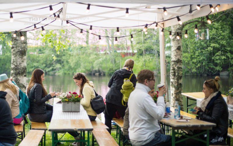 Summery atmosphere in Seinäjoki