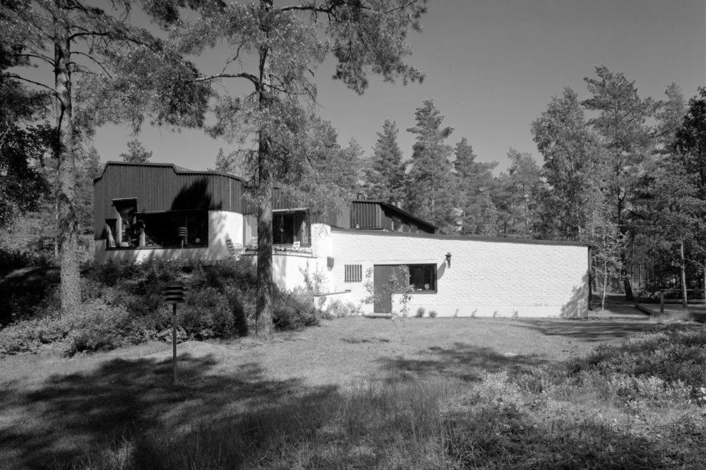 スンマにあるエンソ=グッツァイト製紙工場長宅。写真:Martti Kapanen, アルヴァ・アアルトミュージアム