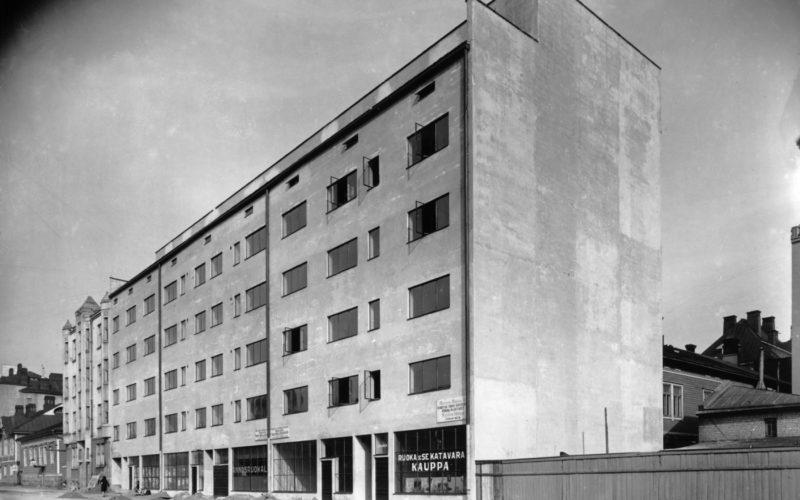 turku-standardivuokratalo-Tapani-1927-1929-kuva-aino-aalto-alvar-aalto-museo