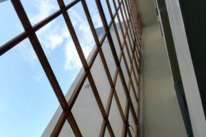 Turun news office builging window