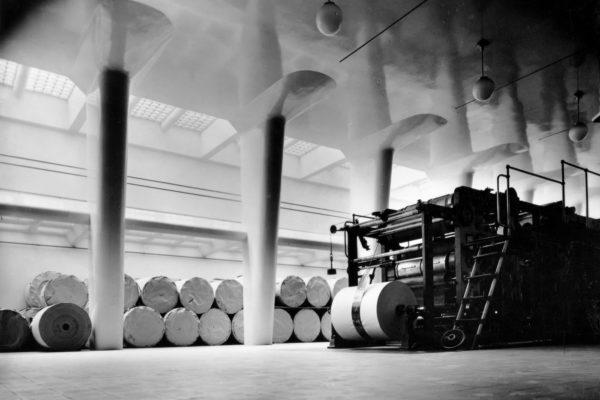 Печатный зал в здании редакции