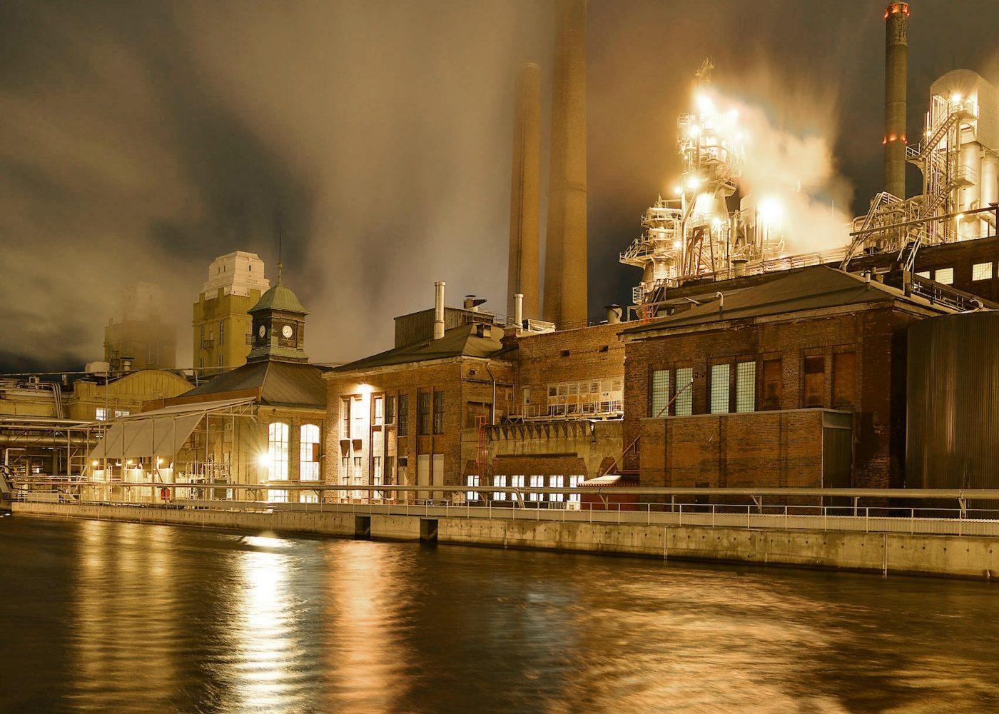Varkaus Paper Mill photo Timo Heinonen