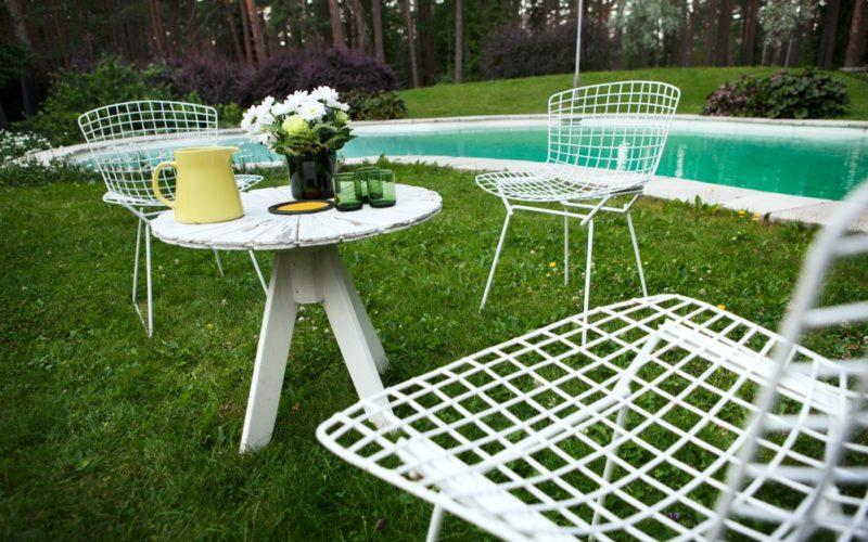 Villa Mairea garden chairs