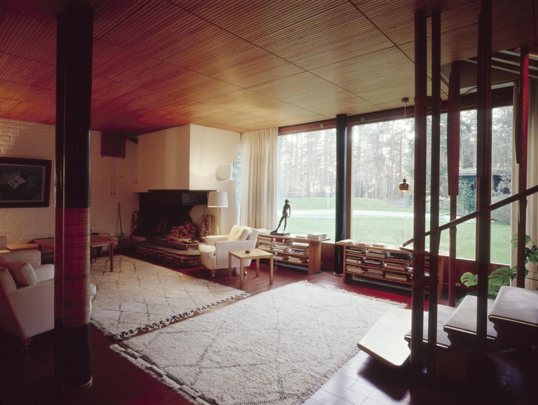 Villa Mairea, olohuone