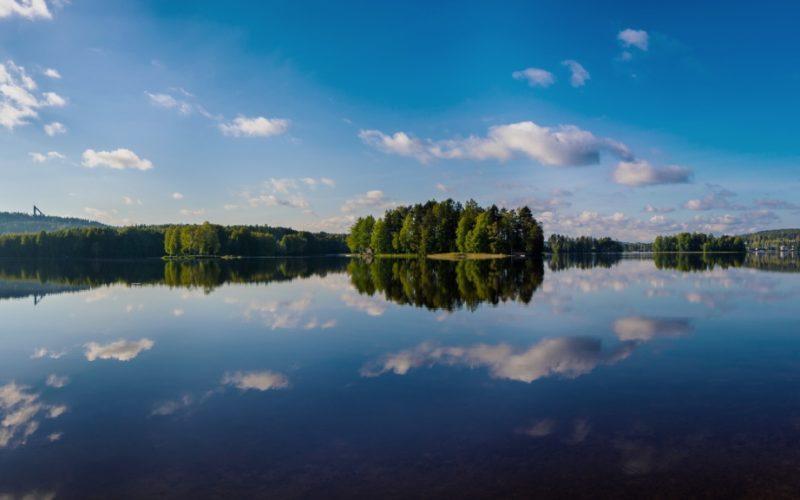 ユヴァスキュラ、フィンランド湖水地方の美しい景色。写真:Atacan Ergin