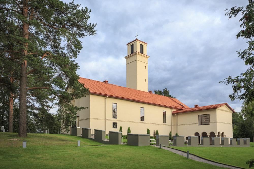 Viitatorni on Aallon suunnittelema kerrostalo Jyväskylässä. Kuva: Visit Jyväskylä, Tero Takalo-Eskola.