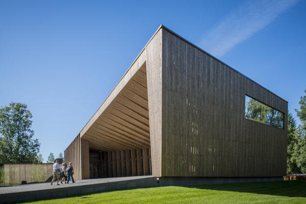 Serlachius-museo Göstan paviljonki avattin yleisölle kesällä 2014. Kuva: Serlachius-museot.