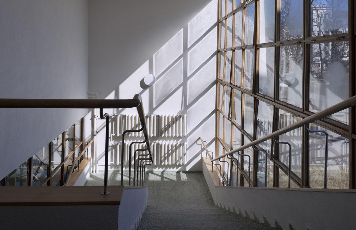 Vyborg library staircase