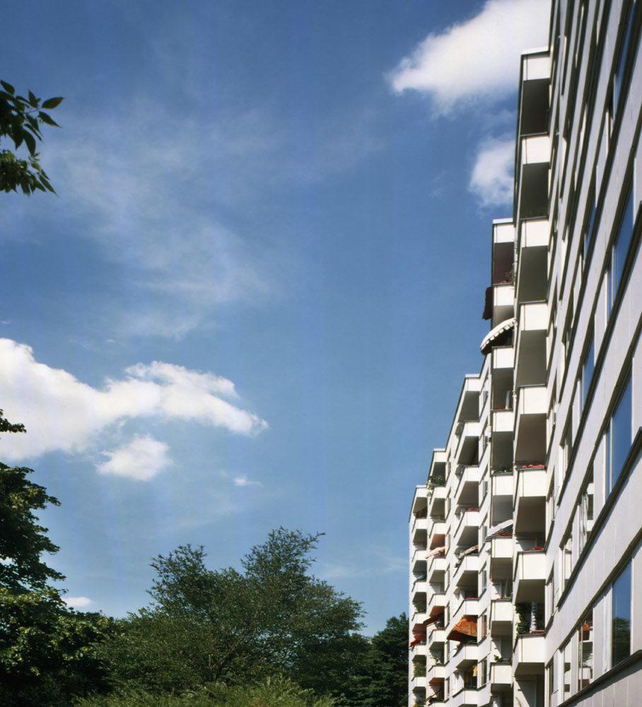Hansaviertelin asuinkerrostalo