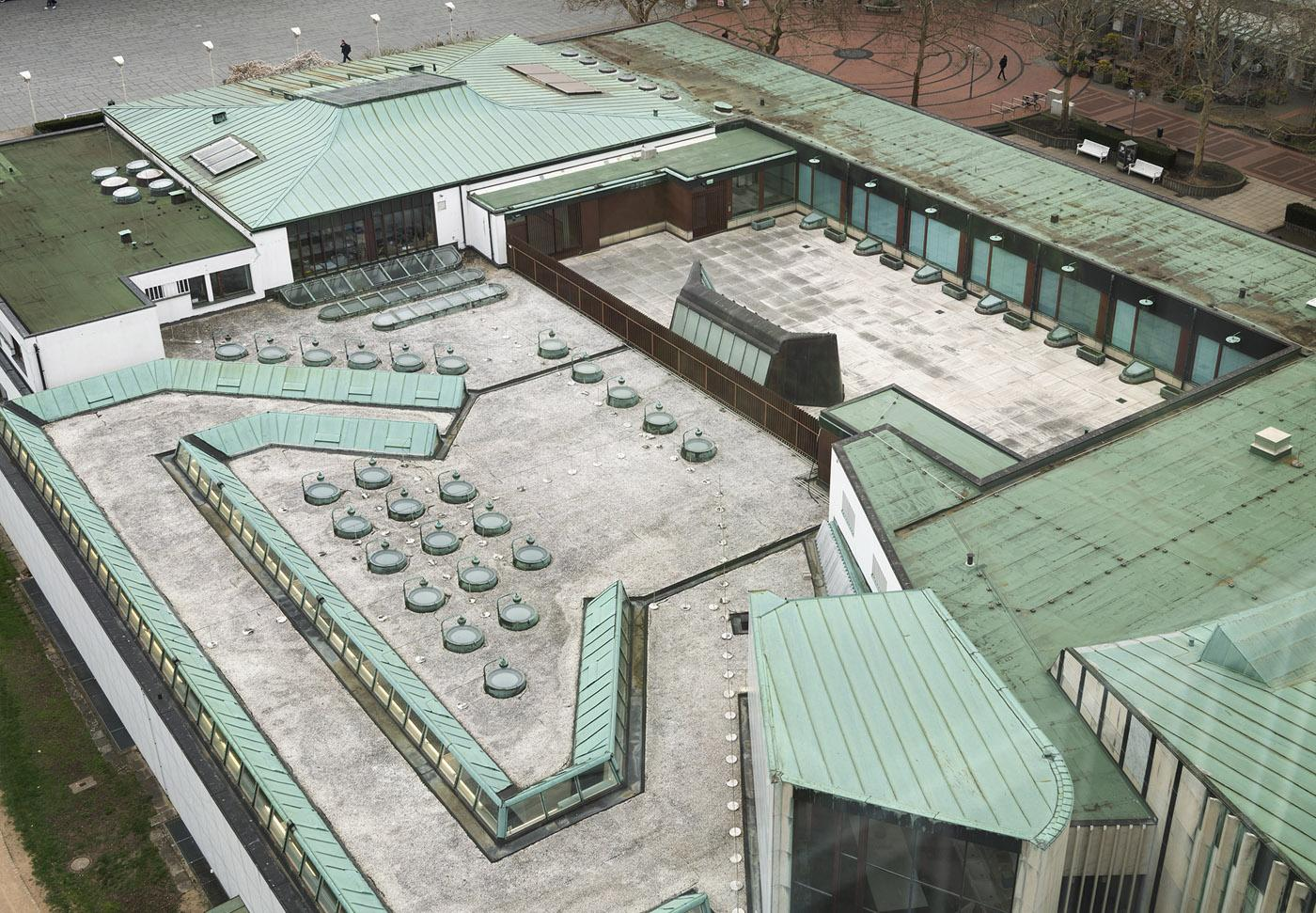 Wolfsburg Cultural Center roof terrace