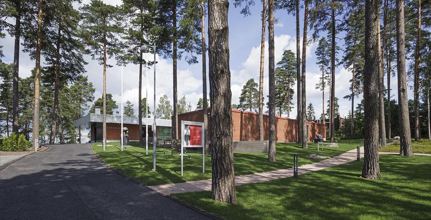 Didrichsenin taidemuseo, veistospuisto, Helsinki