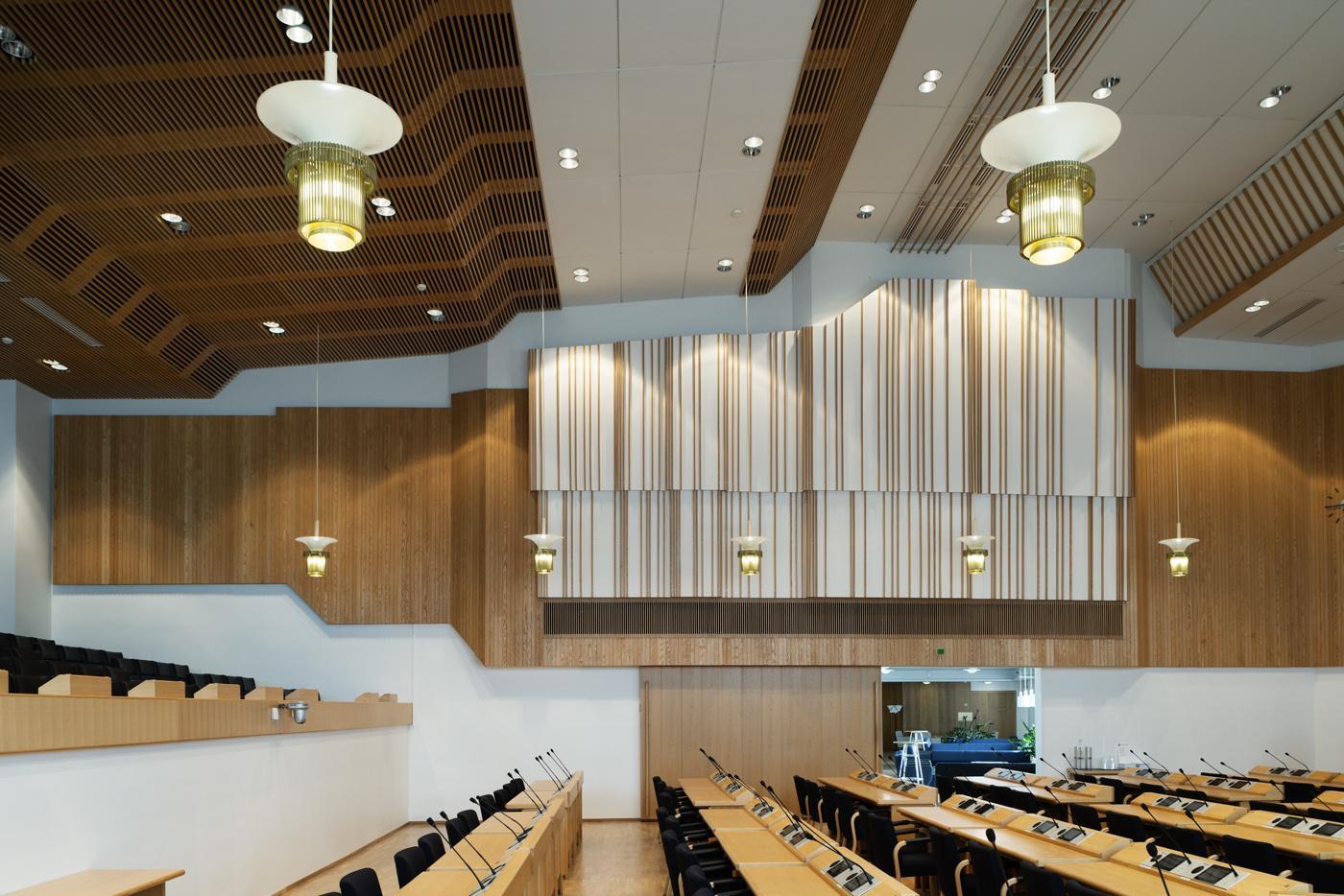 The council hall, Rovaniemi town hall