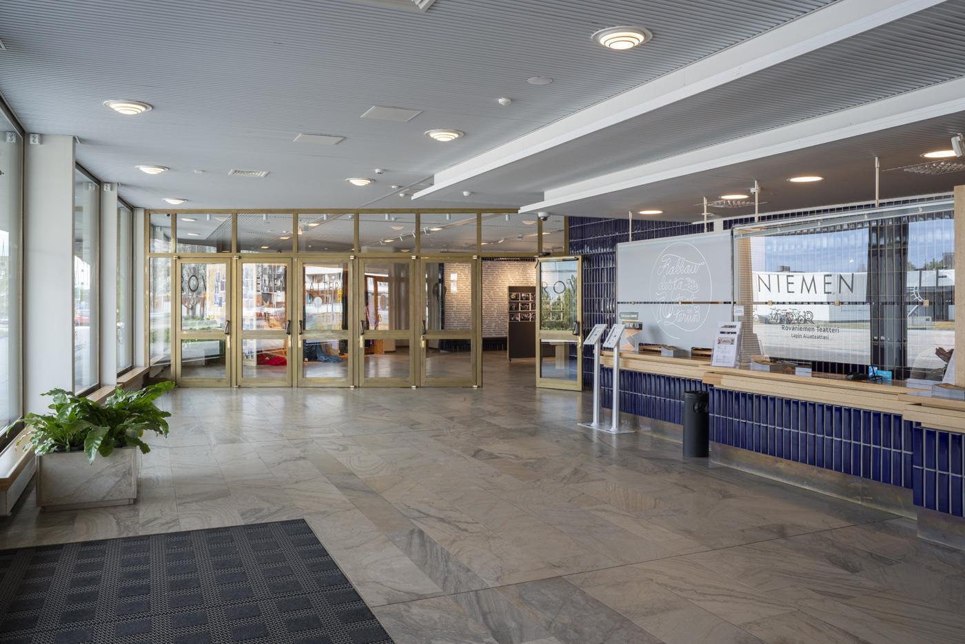Lappia Hall, lobby