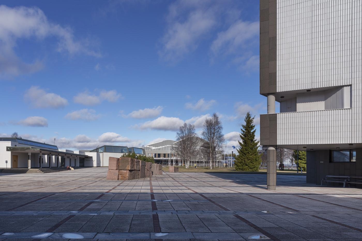 The Administrative and Cultural Centre of Rovaniemi