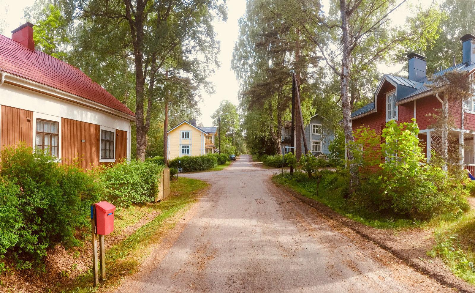 Niskalampi residential area, Imatra